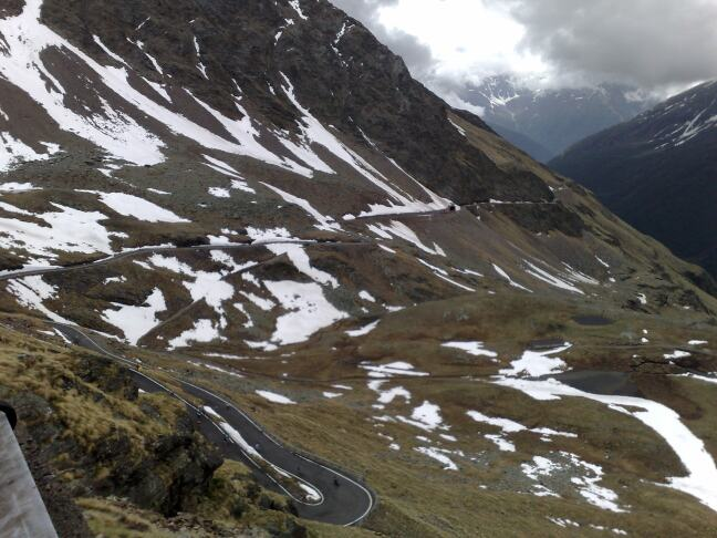 gavia weg tunnel